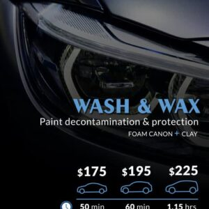 WASH AND WAX